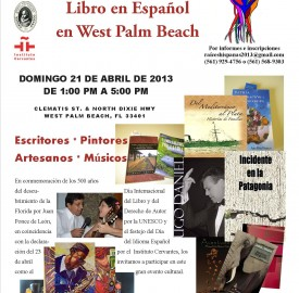 1era. Feria del Libro en Español en West Palm Beach