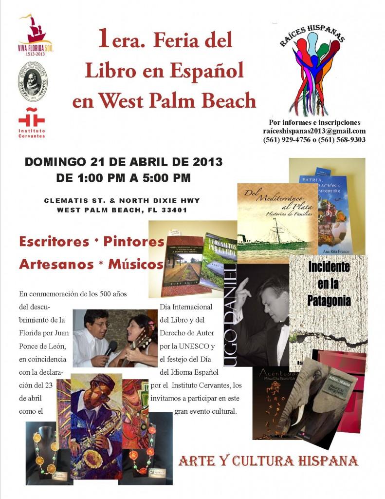 1era. Feria del Libro en Español en West Palm Beach