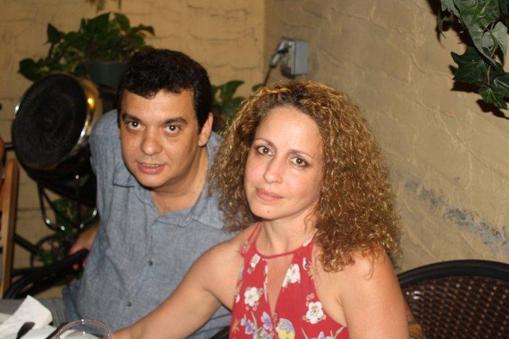 Armando Añel e Idabell Rosales