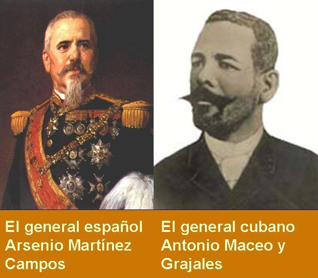 ANTONIO MACEO Y ARSENIO MARTINEZ