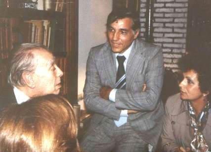 Jorge Luis Borges y Eduardo Pérsico, entre otros.