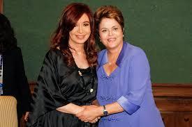 Dilma Rousseff y Cristina Fernández
