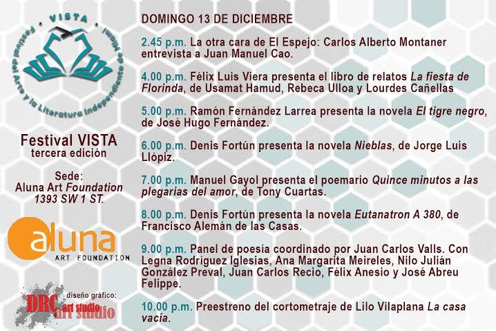 Programa Dia 13 (domingo)