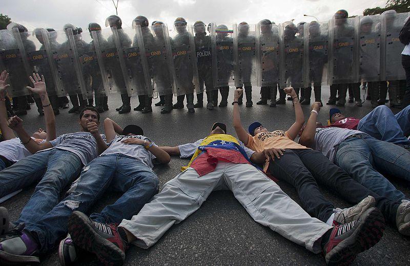 Venezuela. Protesta