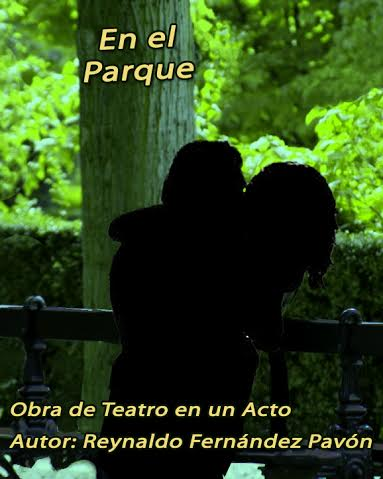 Poster obra de teatro de Reynaldo Fernández Pavón