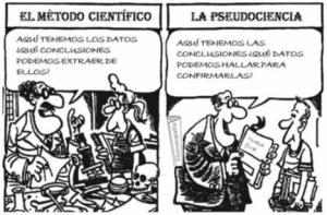 El método científico y la pseudociencia