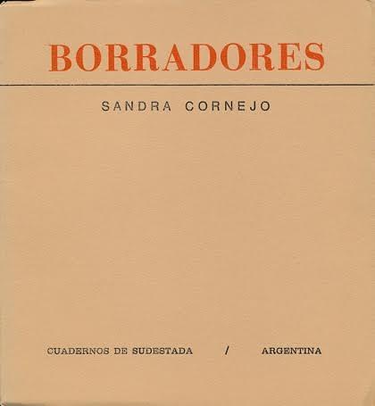 Sandra Cornejo 9. Libro Borradores