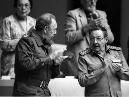 Fidel y Raúl Castro 1
