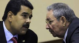 Maduro y Raúl Castro